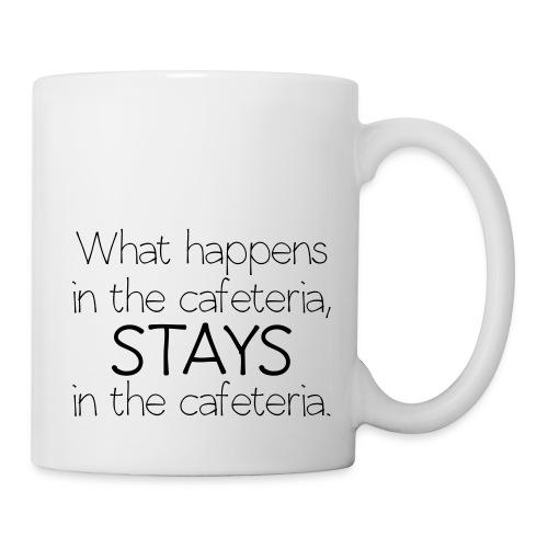 What happens in cafeteria - Coffee/Tea Mug