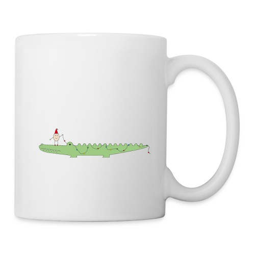 Croc & Egg Christmas - Coffee/Tea Mug