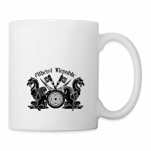 Atheist Republic Logo - Key Emblem - Coffee/Tea Mug