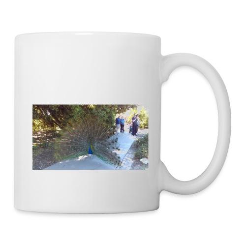 Peacock with wings - Coffee/Tea Mug
