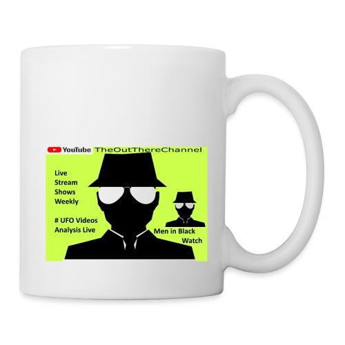 Mib 2 Men with Back Crew Logo - Coffee/Tea Mug