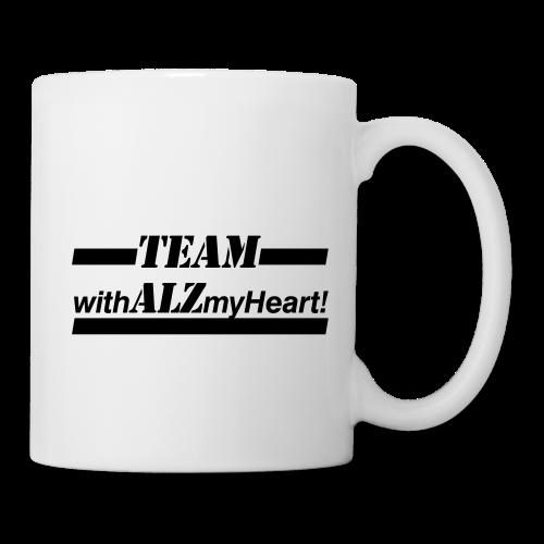 Team withALZmyHeart Logo Wear - Coffee/Tea Mug