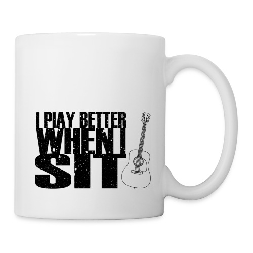 I Play Better When I Sit - Coffee/Tea Mug