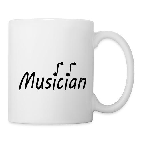 musician black - Coffee/Tea Mug