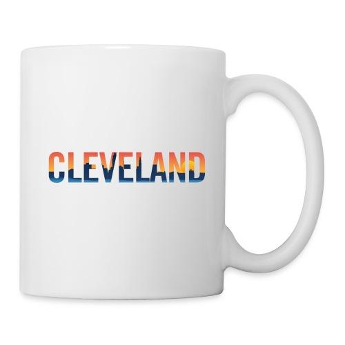 Cleveland Ohio Pride Illustration - Coffee/Tea Mug