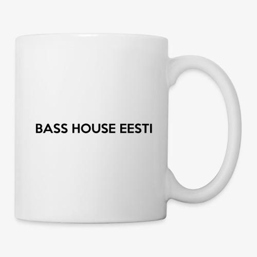 Bass House Eesti Logo Black - Coffee/Tea Mug