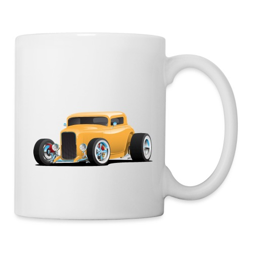 Classic American 32 Hotrod Car Illustration - Coffee/Tea Mug