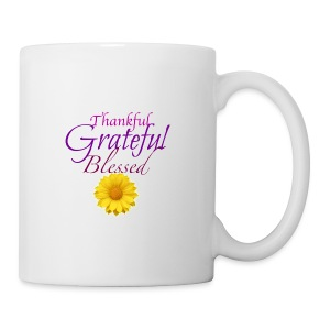 Thankful grateful blessed - Coffee/Tea Mug