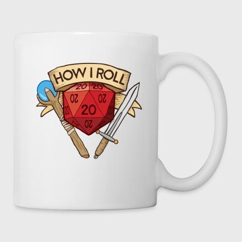 How I Roll D&D DND - Coffee/Tea Mug