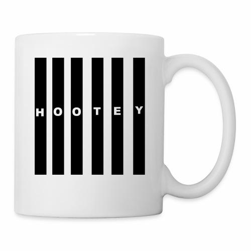 HOOTEY BLACK BARS - Coffee/Tea Mug