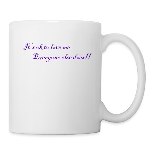 It's ok to love me - Coffee/Tea Mug