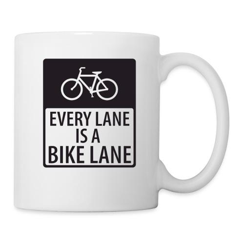 Every Lane is a Bike Lane - Coffee/Tea Mug