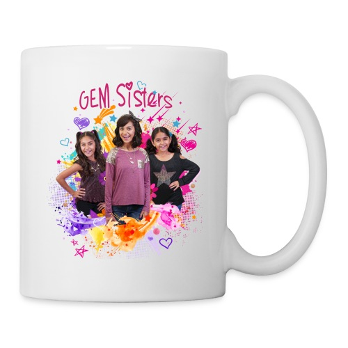 GEM Sisters Color Splash (Bright) - Coffee/Tea Mug