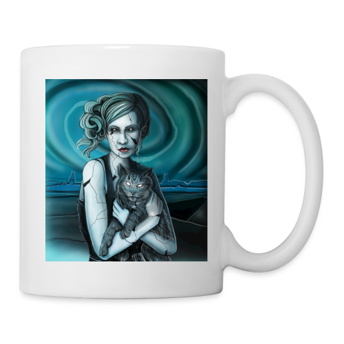 Blackeyed Blonde Portrait - Coffee/Tea Mug