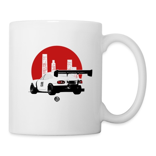 BEAVIS RACECARLOGO BLACK - Coffee/Tea Mug