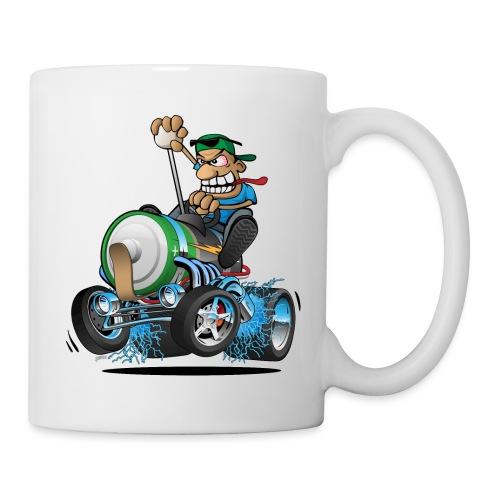 Hot Rod Electric Car Cartoon - Coffee/Tea Mug