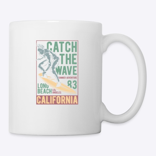 Catch The Wave - Coffee/Tea Mug