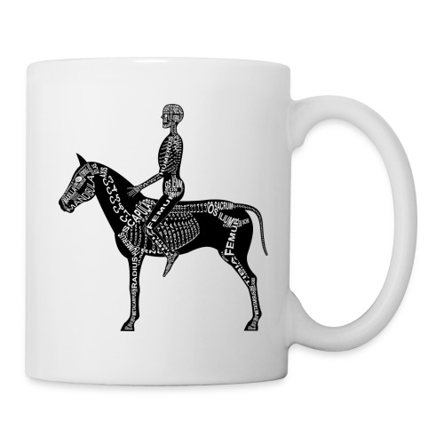 Skeleton Equestrian - Coffee/Tea Mug