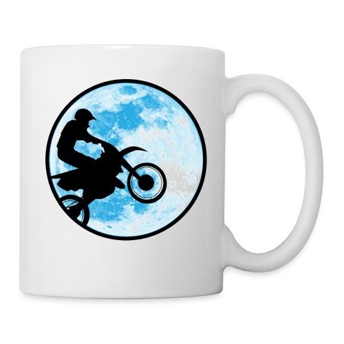 Motocross Motorcycle Blue Moon - Coffee/Tea Mug