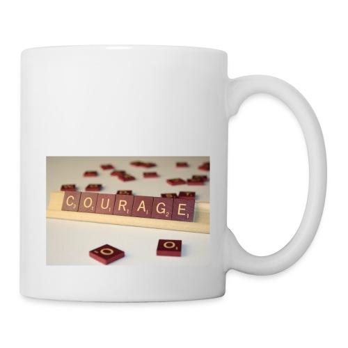 Be Courageous in LifeT-Shirt - Coffee/Tea Mug