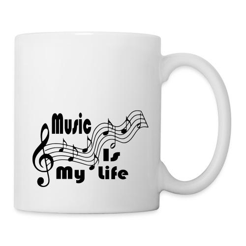 Music Is My Life - Coffee/Tea Mug