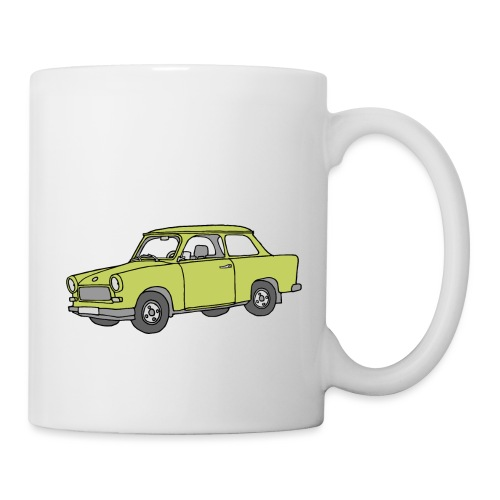 Trabant (baligreen car) - Coffee/Tea Mug