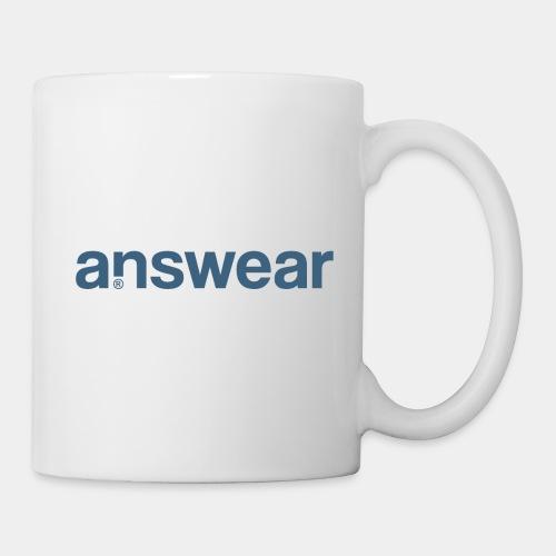answear answer question - Coffee/Tea Mug