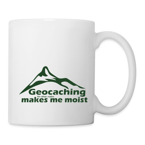 Geocaching in the Rain - Coffee/Tea Mug
