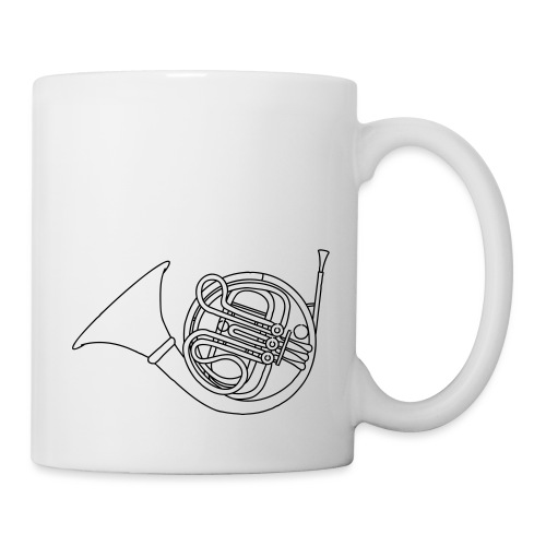 French horn brass - Coffee/Tea Mug