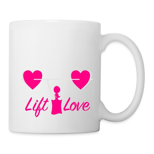 Women Love Fitness Pink Cure - Coffee/Tea Mug