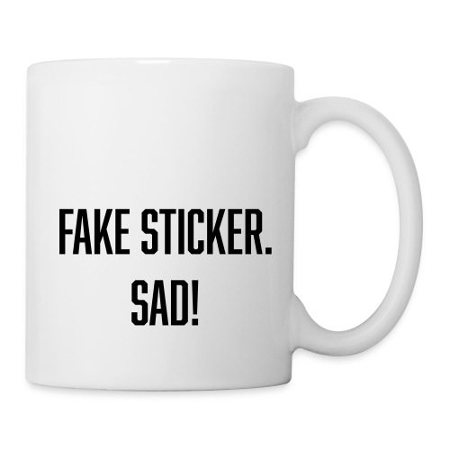 fake sticker - Coffee/Tea Mug