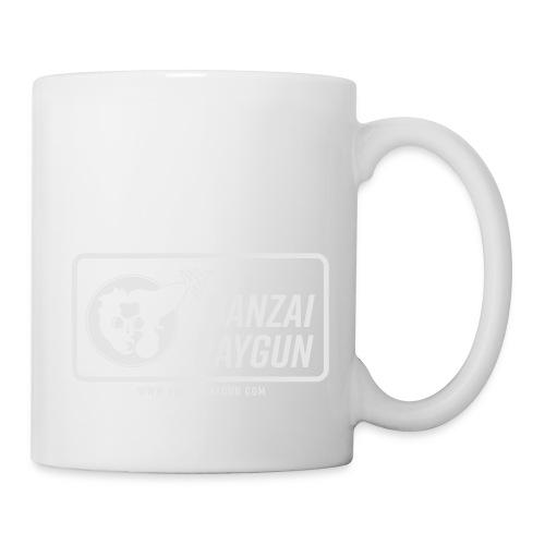 Banzai Raygun Rectangle Logo - Coffee/Tea Mug