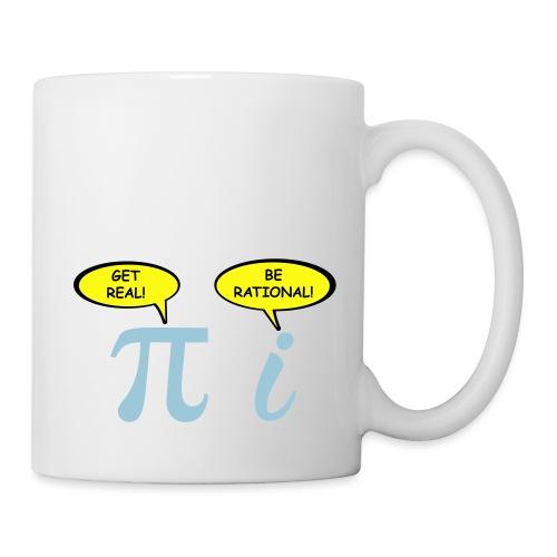 Get real Be rational - Coffee/Tea Mug