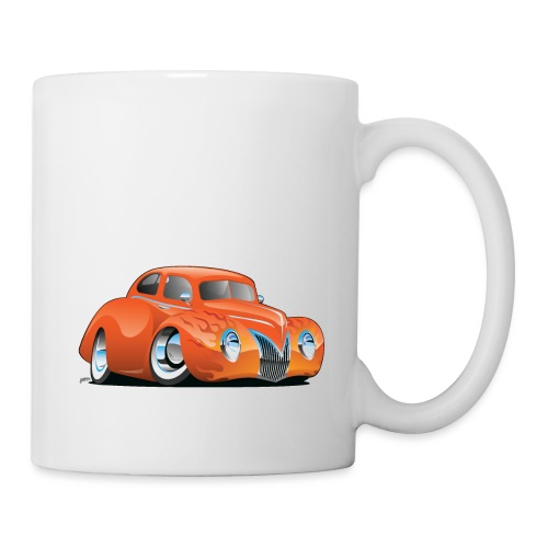 Custom Street Rod Vintage Car Cartoon - Coffee/Tea Mug