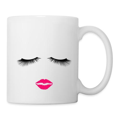 Lipstick and Eyelashes - Coffee/Tea Mug