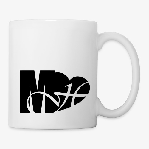 Mo Heart Solid White - Coffee/Tea Mug