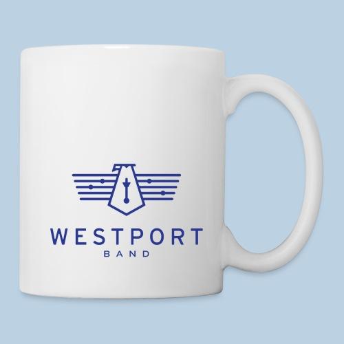 Westport Band Blue on transparent - Coffee/Tea Mug