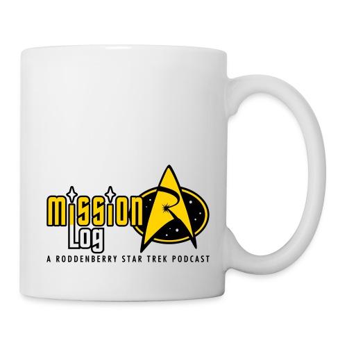 Logo Wide 2 Color Black Text - Coffee/Tea Mug