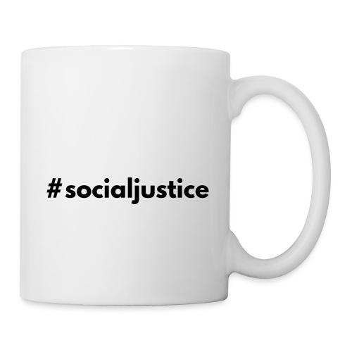 #socialjustice - Coffee/Tea Mug