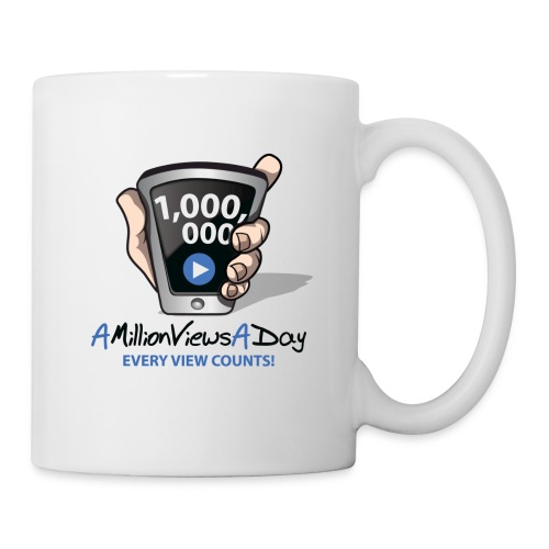 AMillionViewsADay - every view counts! - Coffee/Tea Mug