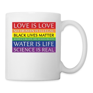 rainbow solidarity - Coffee/Tea Mug