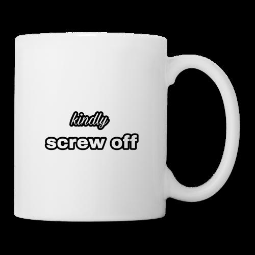 Kindly screw off mug - Coffee/Tea Mug