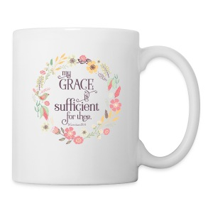My Grace is Sufficient - Coffee/Tea Mug