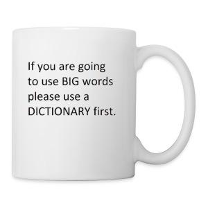 Dictionary First - Coffee/Tea Mug