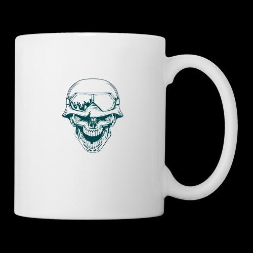 calabera militar - Coffee/Tea Mug