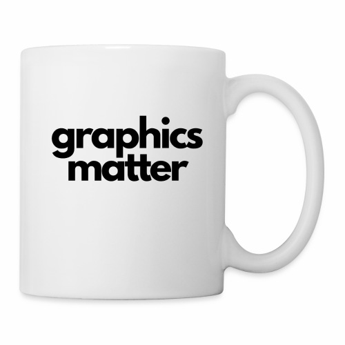 graphics matter-black - Coffee/Tea Mug