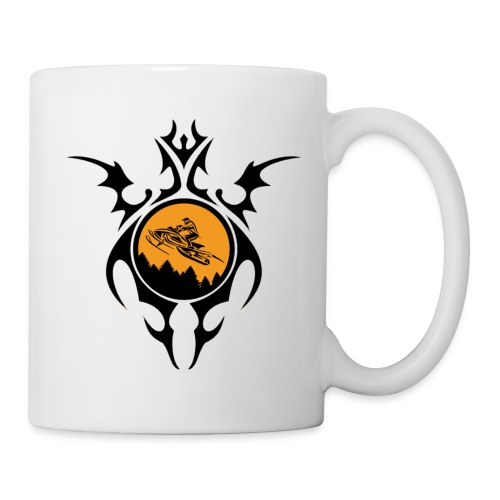 shirt graphic SNOWMOBILE - Coffee/Tea Mug