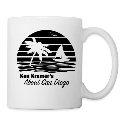 Ken's Awesome Monochrome Logo - Coffee/Tea Mug