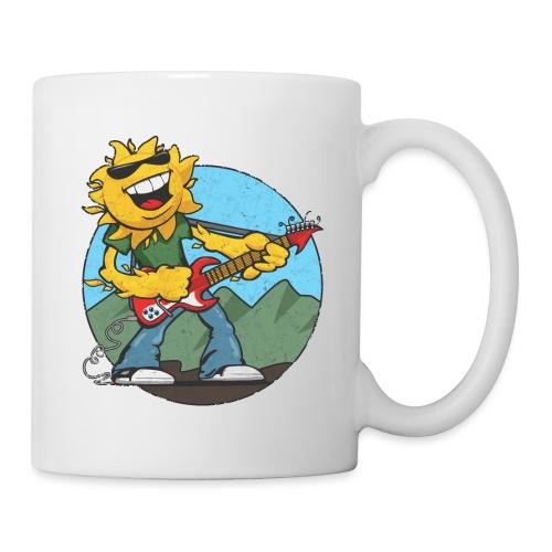 sun guitar rocker v1 t - Coffee/Tea Mug