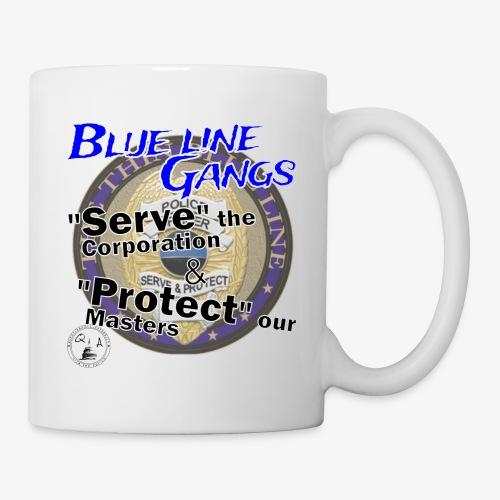 Thin Blue Line - To Serve and Protect - Coffee/Tea Mug
